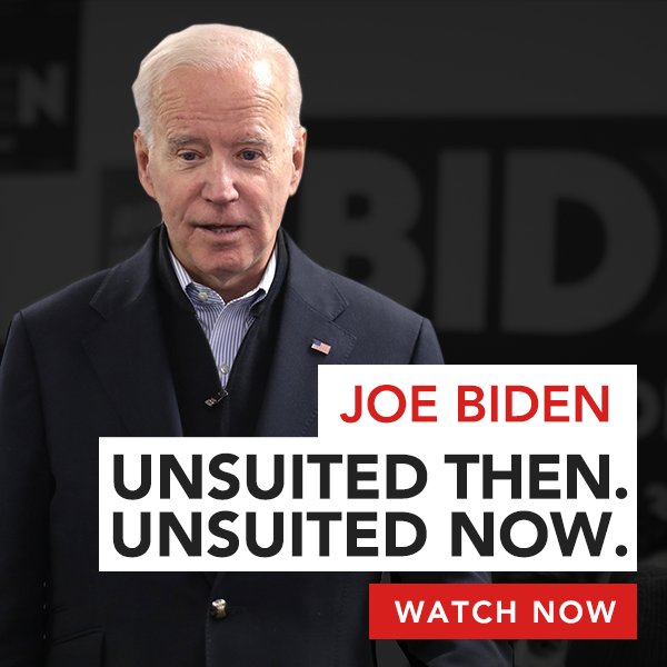 Restoration PAC | Joe Biden - Unsuited Then, Unsuited Now