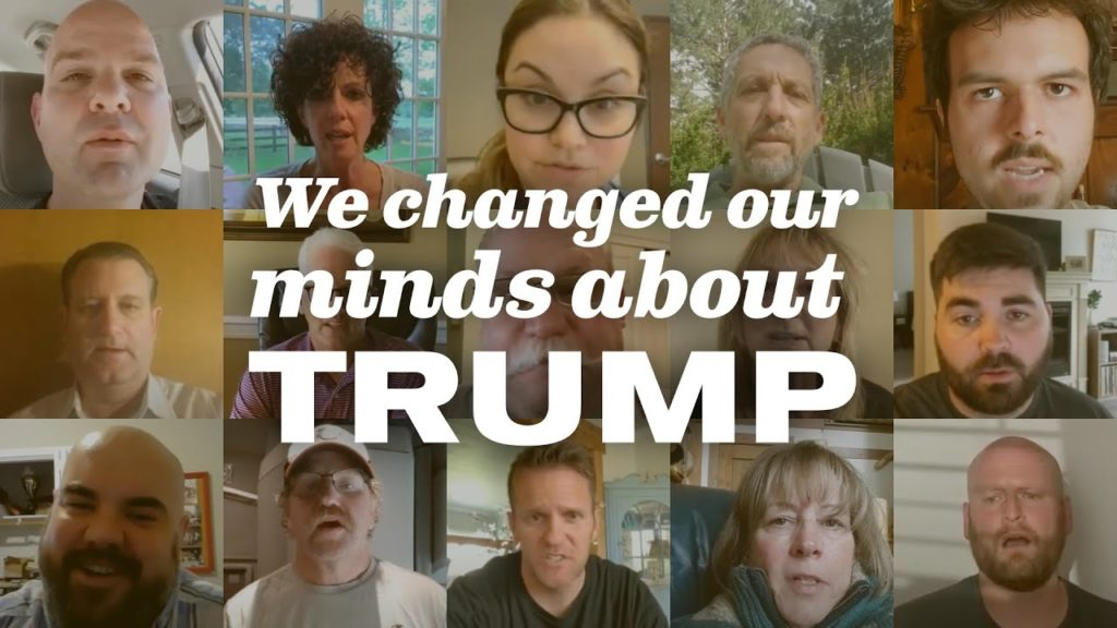 "Trump Voters: ""It's OK to Change Your Mind. We Did."""